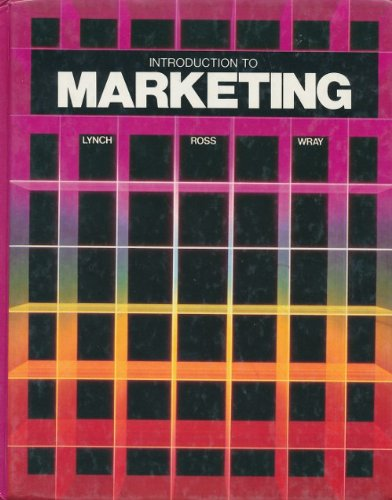 Introduction to Marketing (The Gregg/McGraw-Hill marketing series): Richard L. Lynch