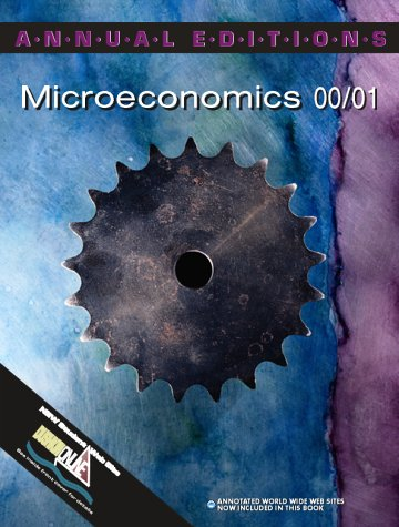 9780070392298: Annual Editions: Microeconomics 00/01