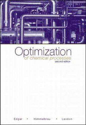 9780070393592: Optimization of Chemical Processes