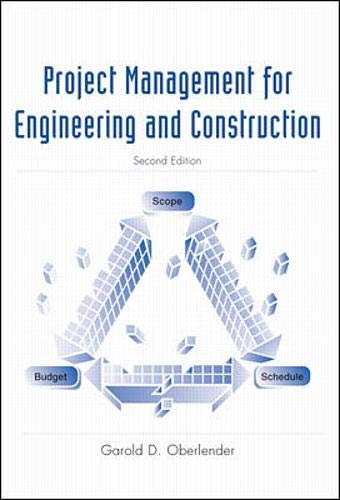 9780070393608: Project Management for Engineers and Construction