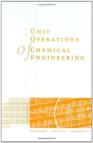 9780070393660: Unit Operations of Chemical Engineering (Mcgraw-Hill Chemical Engineering Series)