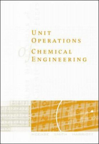 9780070393660: Unit Operations of Chemical Engineering