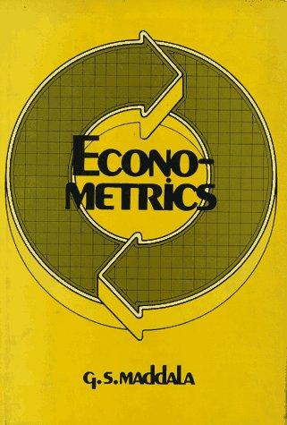 9780070394124: Econometrics (Economics handbook series)