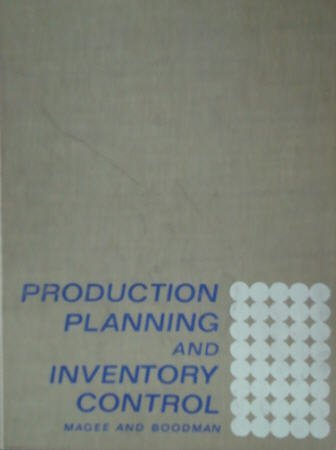 9780070394889: Production Planning and Inventory Control