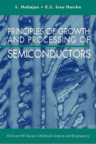9780070396050: Principles of Growth and Processing of Semiconductors