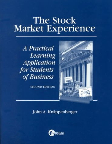 9780070397279: The Stock Market Experience