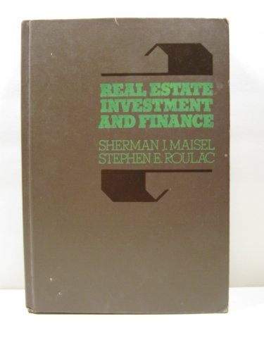 9780070397309: Real Estate Investment and Finance