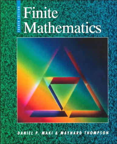9780070397637: Finite Mathematics