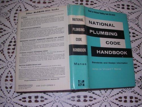 9780070398504: National Plumbing Code Handbook: Standards and Design (McGraw-Hill Handbooks)