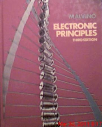 Electronic Principles: Malvino, Albert Paul