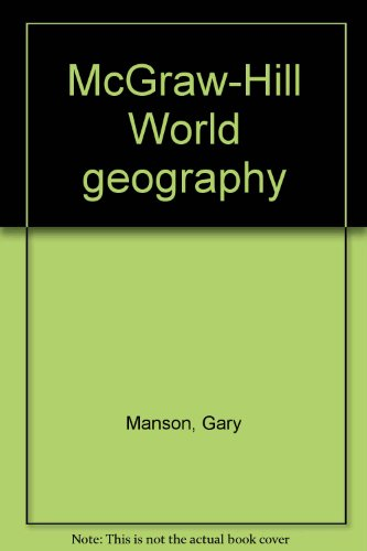 9780070399693: McGraw-Hill World geography