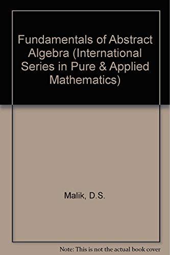 9780070400351: Fundamentals of Abstract Algebra