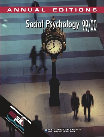 9780070400870: Social Psychology 1999-2000 (Annual Editions)