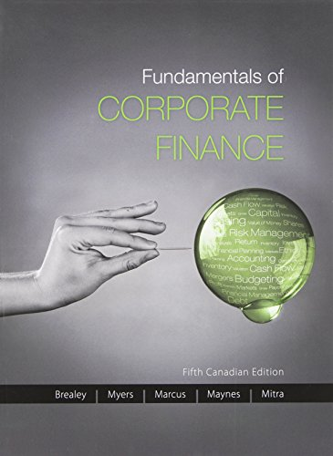 Fundamentals of Corporate Finance with Connect Access: Richard A. Brealey