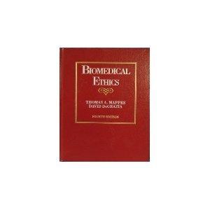 9780070401419: Biomedical Ethics