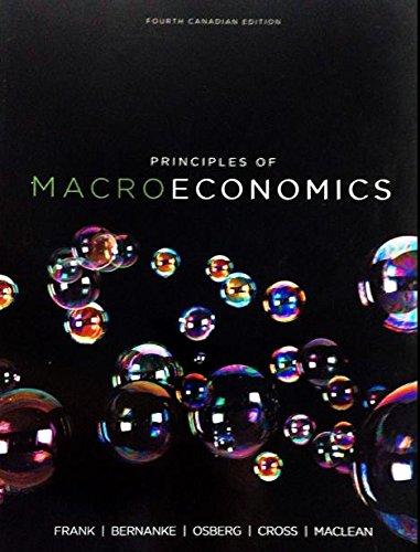 Principles Of Macroeconomics, No Access Card.: Robert H. Frank; Ben S. Bernanke; Lars Osberg; ...