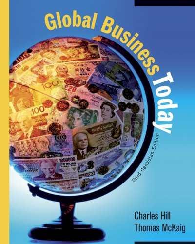 Global Business Today [Paperback] by Hill, Charles: Hill, Charles W.