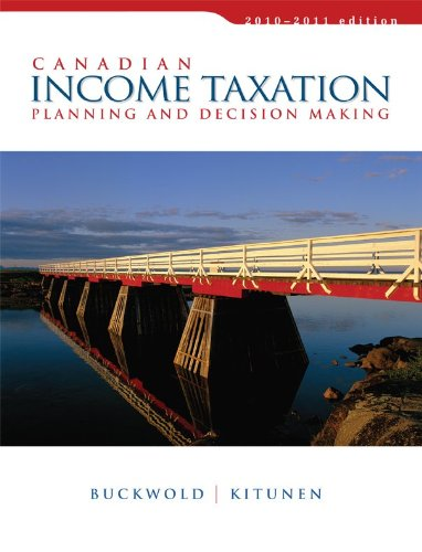 9780070401884: Canadian Income Taxation, 2010/2011 Edition