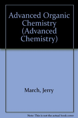 9780070402409: Advanced Organic Chemistry (Advanced Chemistry)