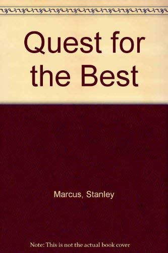 9780070402942: Quest for the Best