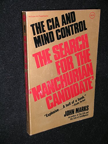 9780070403970: The CIA and Mind Control: The Search for the 'Manchurian Candidate'