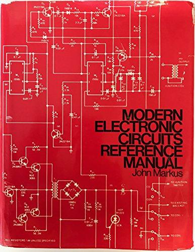 john markus modern electronic circuits reference manual abebooks