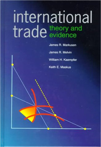 9780070404472: International Trade: Theory and Evidence