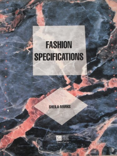 9780070405332: Fashion Specifications