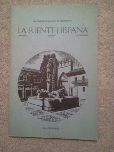 9780070405790: Instructor's manual to accompany La fuente Hispana
