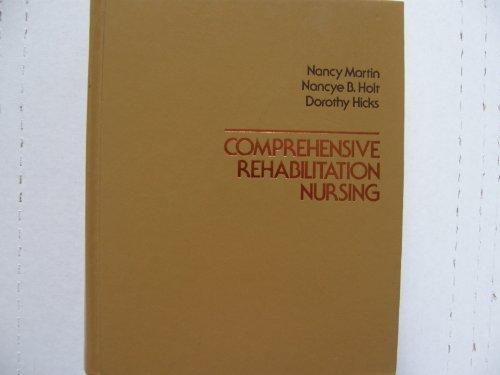 9780070406117: Comprehensive Rehabilitation Nursing
