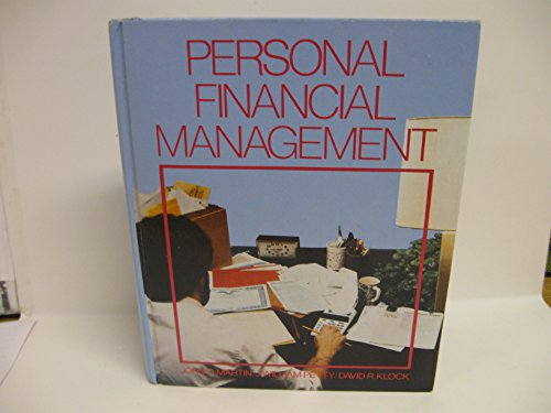 9780070406155: Personal Financial Management (Mcgraw Hill Series in Finance)