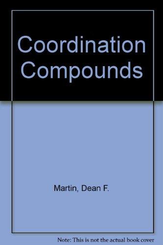 9780070406285: Coordination Compounds