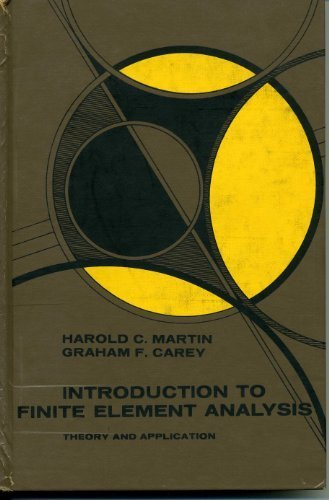 9780070406414: Introduction to Finite Element Analysis: Theory and Application