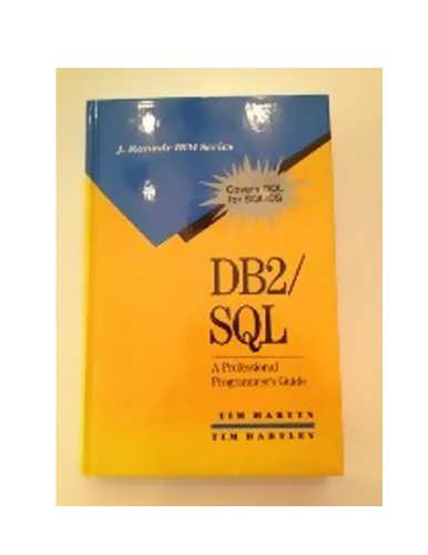 9780070406667: DB2/Sql: A Professional Programmer's Guide