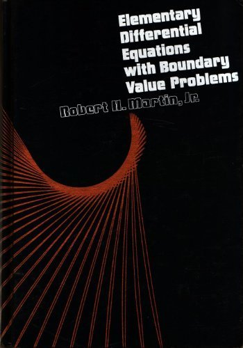 9780070406896: Elementary Differential Equations With Boundary Value Problems