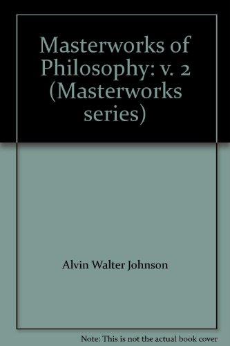 9780070408029: Masterworks of Philosophy: v. 2 (Masterworks series)