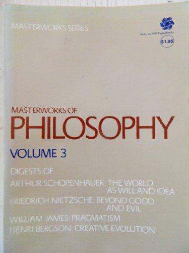 9780070408036: Masterworks of Philosophy, volume 3 (v. 3)