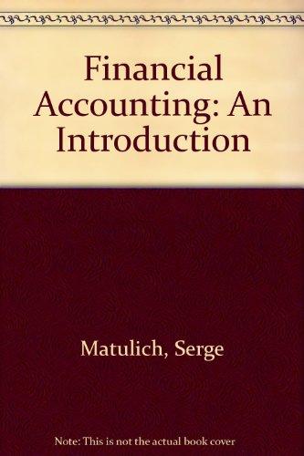 9780070409125: Financial Accounting