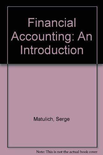 9780070409217: Financial Accounting: An Introduction