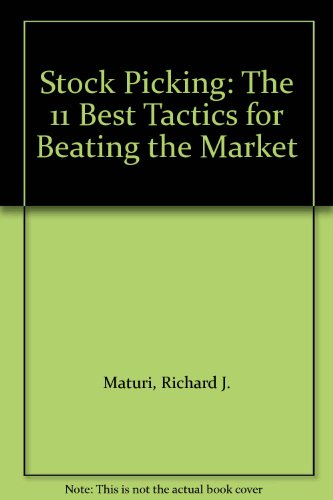 9780070409378: Stock Picking: The 11 Best Tactics for Beating the Market