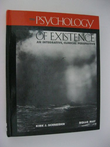 9780070410176: The Psychology of Existence: An Integrative, Clinical Perspective: An Integrative, Clinical Approach