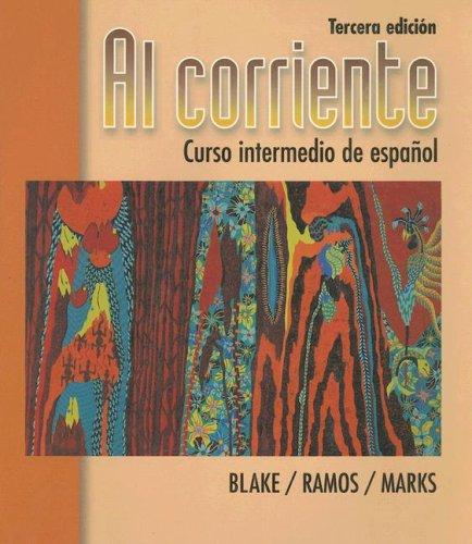 9780070410718: Al corriente: Curso intermedio de espanol