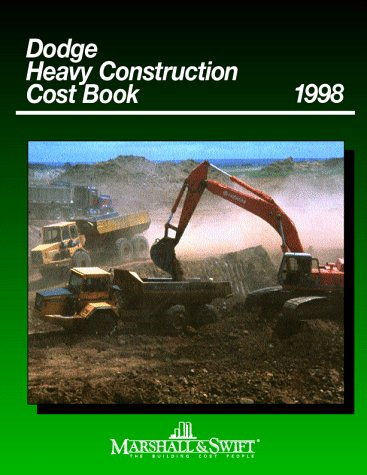 9780070410985: Dodge Heavy Construction Cost Book 1998 (Mcgraw Hill's Dodge Heavy Construction Cost Data)