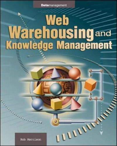9780070411036: Web Data Warehousing and Knowledge Management (Enterprise Computing Series)