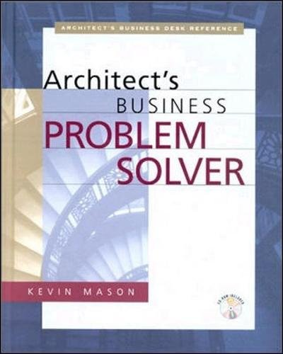 ARCHITECT?S BUSINESS PROBLEM SOLVER, THE.