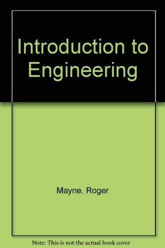 9780070411371: Introduction to Engineering