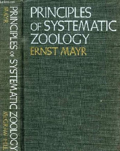 9780070411432: Principles of Systematic Zoology