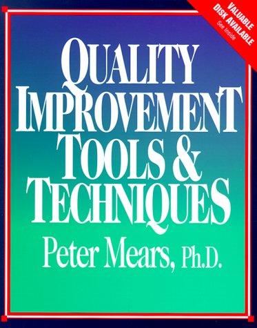 9780070412194: Quality Improvement Tools & Techniques