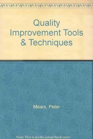 9780070412293: Quality Improvement Tools and Techniques, Book with Disk