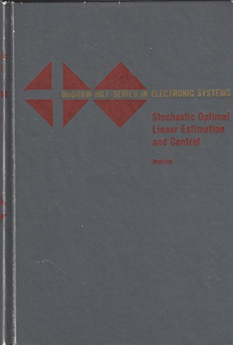 9780070412309: Stochastic Optimal Linear Estimation and Control
